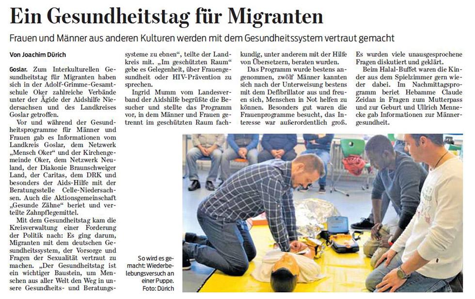 Goslarsche Zeitung 22.10.2018